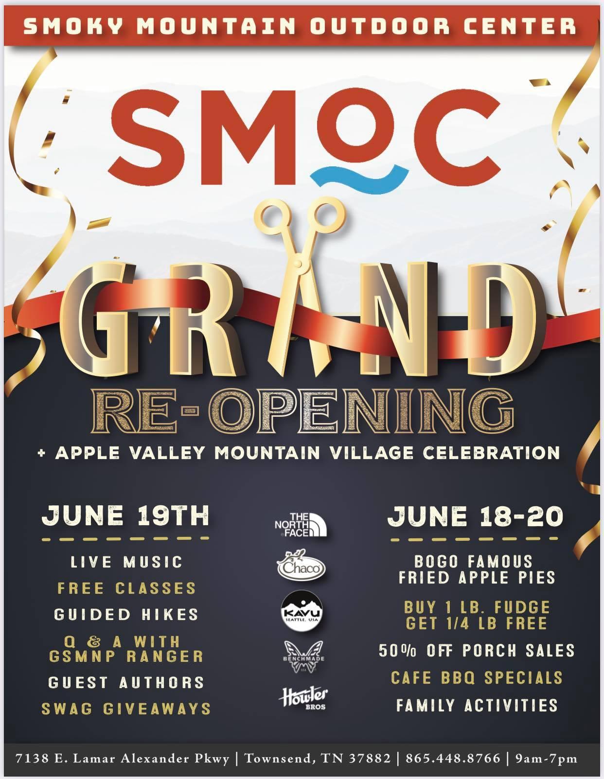 SMOC Grand Reopening